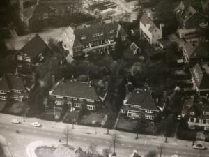 Foto vroegere Churchilllaan (toen nog Middenlaan)