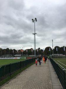 Nieuwe veldverlichting HFC