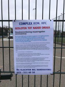 Complex HFC gesloten
